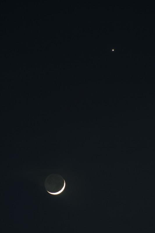 conjonction lune-vénus 22-03-2015
